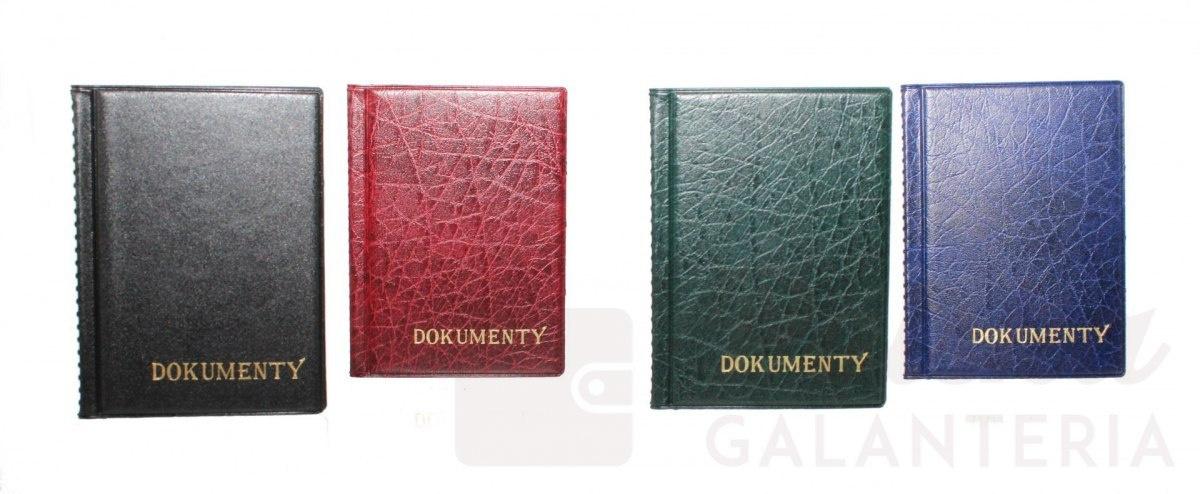 982d51959b263 Eleganckie Etui Na Karty Dokumenty Dowód Rejestracyjny Polska Galanteria (PL)  Duże
